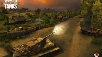 Скриншот World of Tanks