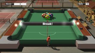 Скриншоты  игры Virtua Tennis 2009