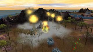 Скриншоты  игры Massive Assault