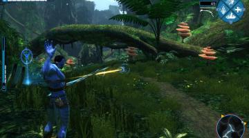 Скриншот James Cameron's Avatar: The Game