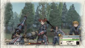миниатюра скриншота Valkyria Chronicles