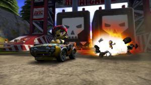 миниатюра скриншота ModNation Racers (2010)