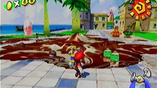 Скриншоты  игры Super Mario Sunshine
