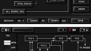 Скриншоты  игры KORG DS-10 Synthesizer