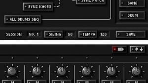 миниатюра скриншота KORG DS-10 Synthesizer