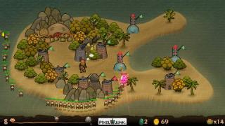 Скриншоты  игры PixelJunk Monsters
