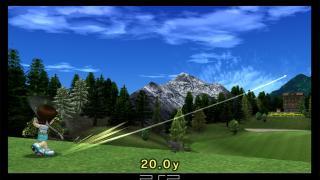 Скриншоты  игры Hot Shots Golf: Open Tee