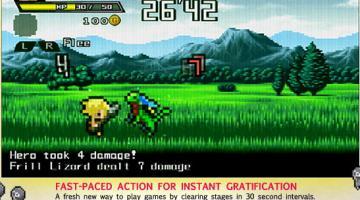 Скриншот Half-Minute Hero