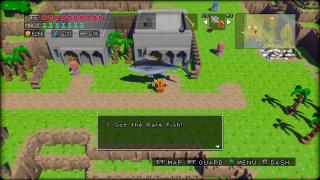 Скриншоты  игры 3D Dot Game Heroes