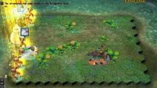 Скриншоты  игры Heroes of Might and Magic Online
