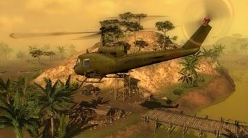 Скриншот Men of War: Vietnam