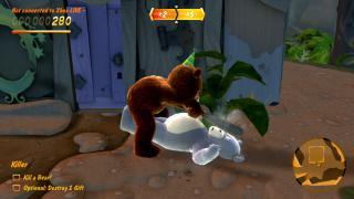 Скриншоты  игры Naughty Bear