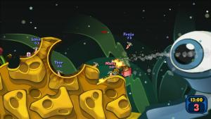 миниатюра скриншота Worms Reloaded