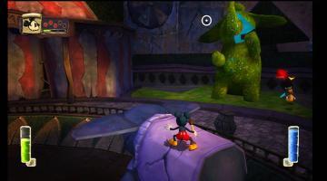 Скриншот Disney Epic Mickey