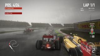 Скриншоты  игры F1 2010