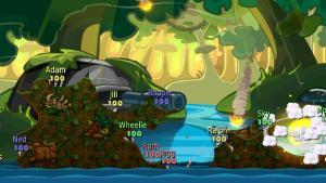 миниатюра скриншота Worms: Battle Islands