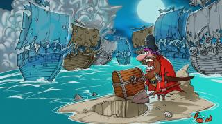 Скриншот Woody Two-Legs: Attack of the Zombie Pirates