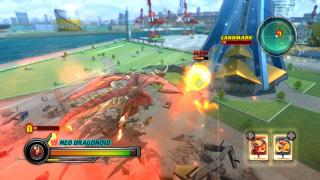 Скриншоты  игры Bakugan Battle Brawlers: Defenders of the Core