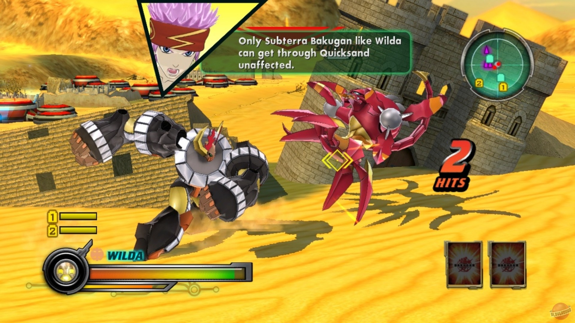 of core battle Bakugan the brawlers defenders