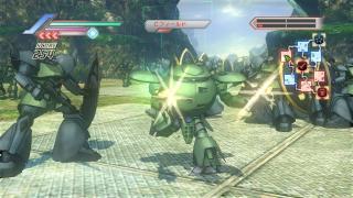 Скриншоты  игры Dynasty Warriors: Gundam 3