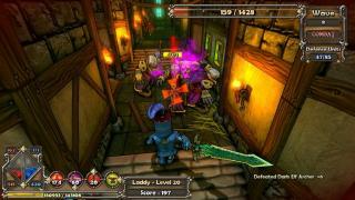 Скриншоты  игры Dungeon Defenders