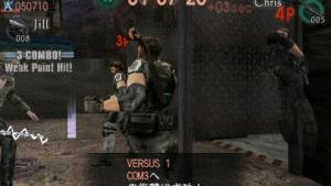 миниатюра скриншота Resident Evil Mercenaries VS.