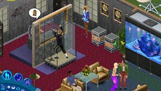 Скриншоты  игры Sims, the
