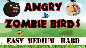 миниатюра скриншота Angry Zombie Birds