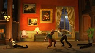 Скриншоты  игры The Adventures of Tintin: The Game