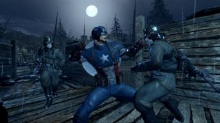 Скриншоты  игры Captain America: Super Soldier