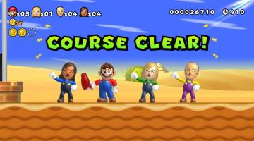 Скриншот New Super Mario Bros. Mii