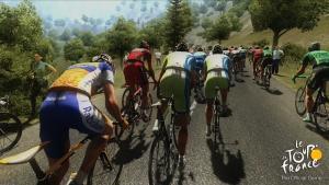 миниатюра скриншота Tour de France: The Official Game