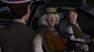 Скриншот Back to the Future: The Game