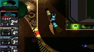 Скриншоты  игры Death Rally (2011)
