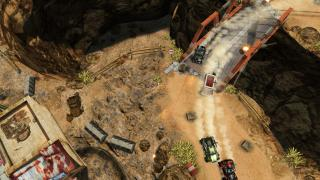 Скриншот Death Rally (2011)