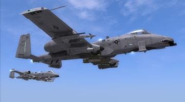 Скриншот DCS: A-10C Warthog