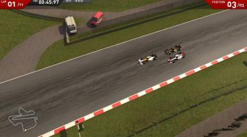 Скриншот F1 Online: The Game