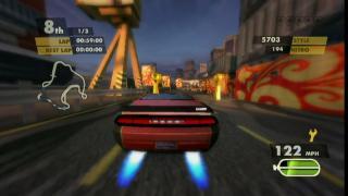 Скриншоты  игры Need for Speed: Nitro