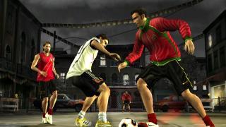 Скриншоты  игры FIFA Street 2
