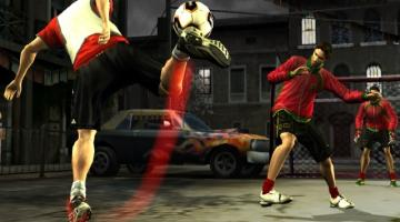 Скриншот FIFA Street 2