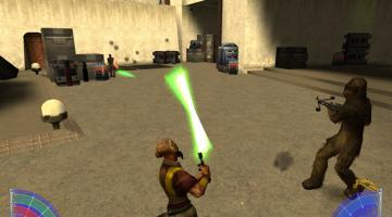Скриншот Star Wars: Jedi Knight - Jedi Academy