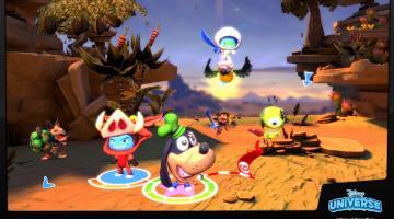 Скриншот Disney Universe