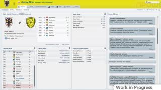 Скриншоты  игры Football Manager 2012
