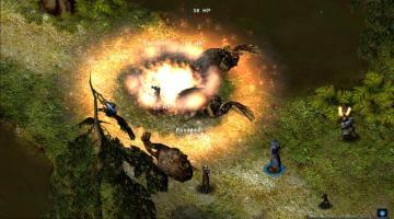 Скриншот Greyhawk: The Temple of Elemental Evil