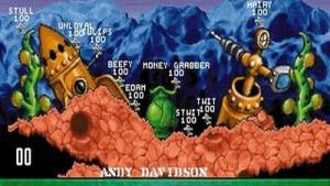 миниатюра скриншота Worms (1995)