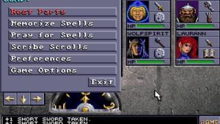 Скриншот Eye of the Beholder 2: The Legend of Darkmoon