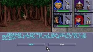 миниатюра скриншота Eye of the Beholder 2: The Legend of Darkmoon