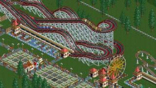 Скриншот RollerCoaster Tycoon