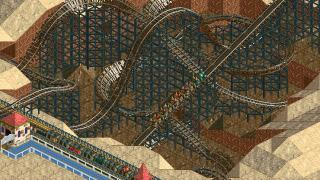 Скриншоты  игры RollerCoaster Tycoon