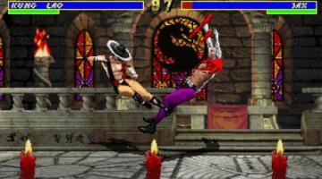 Скриншот Mortal Kombat 3